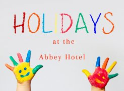 2 Nights B&B for 2 Adults & 2 Kids with 1 Dinner for Adults from €259.00 total with Free Kidz Club
